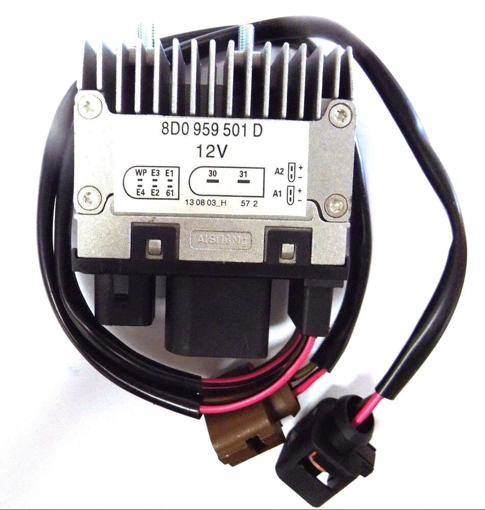 Fan Control Unit Relay Module For Audi A4 A6 S4 Allroad 8d0 959 501d   8d0959501d