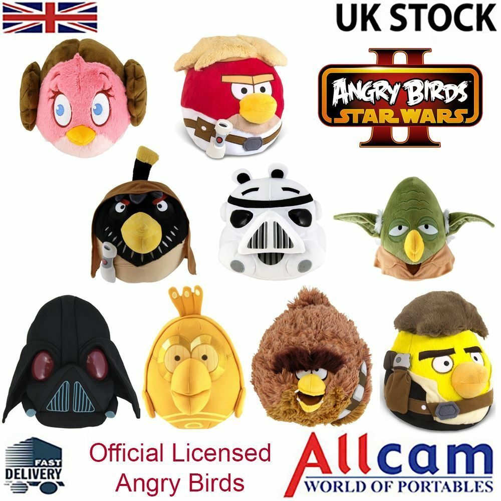 Angry birds star wars ii official licensed cuddly toy - Angry birds star wars 8 ...