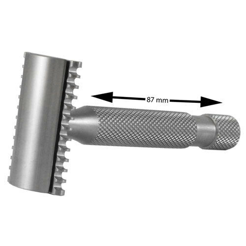 Above the Tie Kronos H2 Open Comb Stainless Steel Safety Razor (Kronos-H2-OC)