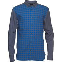Fred Perry Gingham Marl Men's Long Sleeve Shirt Genuine M3280-919