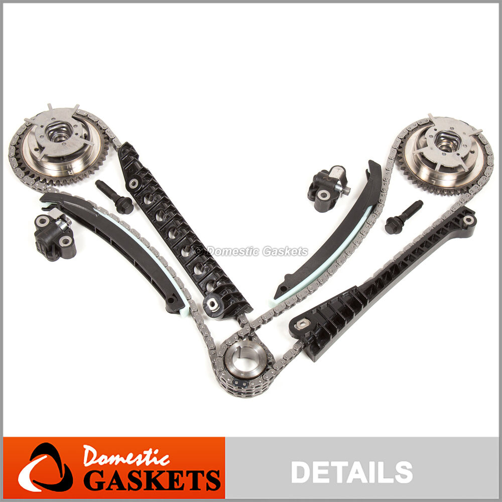 04 08 ford f150 lincoln 5 4l triton 3v timing chain kit. Black Bedroom Furniture Sets. Home Design Ideas