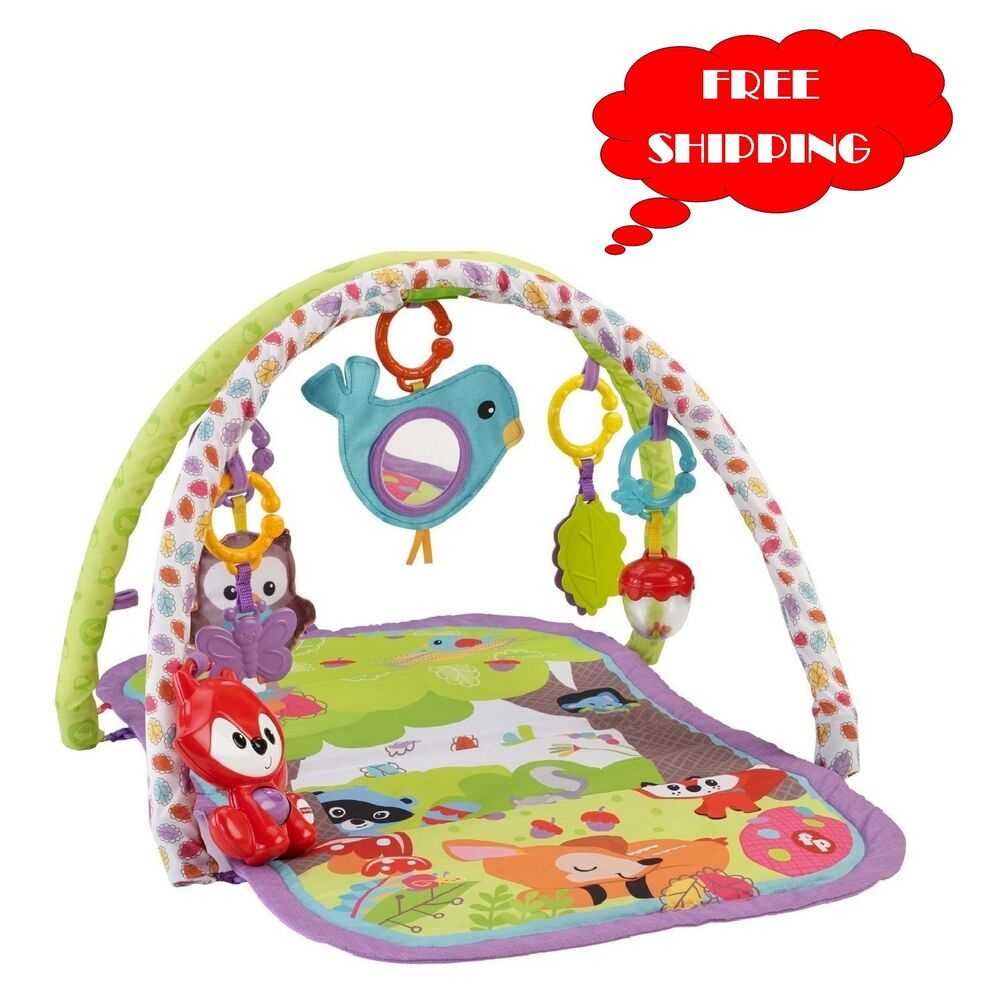 Baby Activity Gym Play Mat Fisher Price Musical Toy Soft