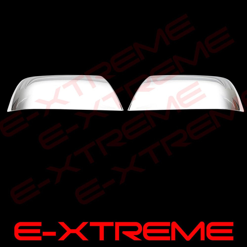 For Toyota Tundra 2007-2016 2017 & SEQUOIA 2007-2014 Chrome Top Mirror Covers | eBay