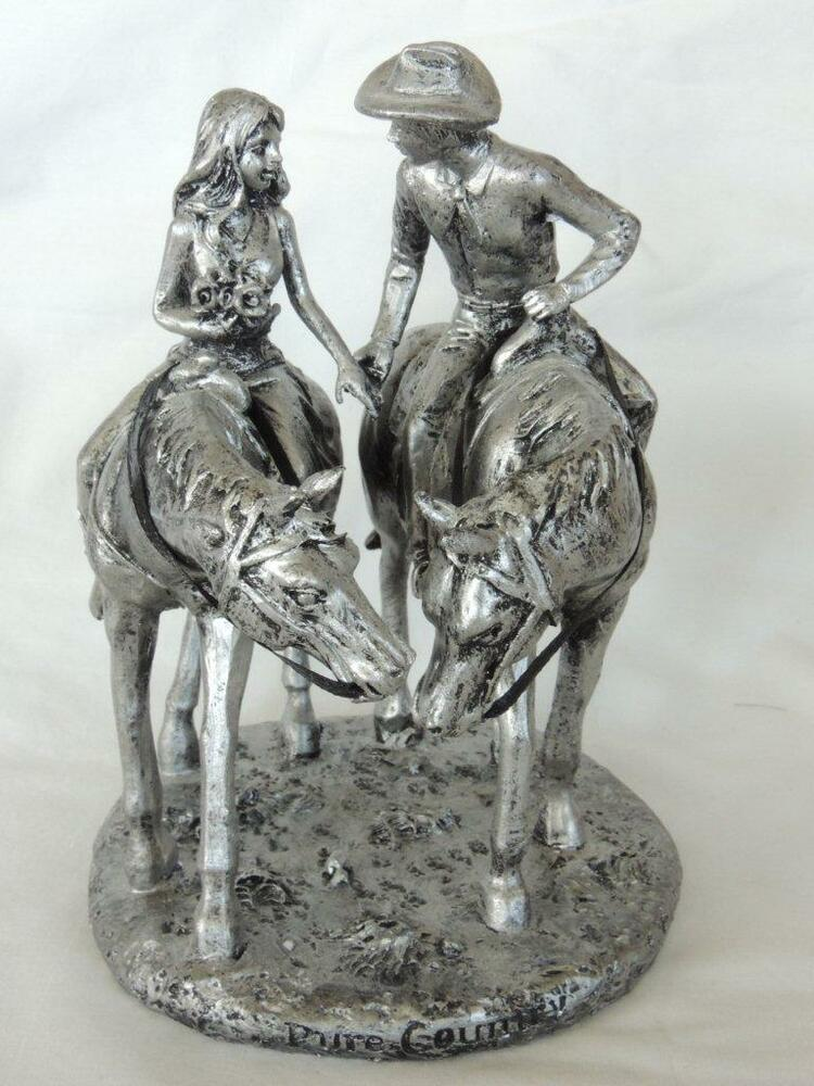 Western Wedding Pure Country Silver Cowboy Bride and Groom ...