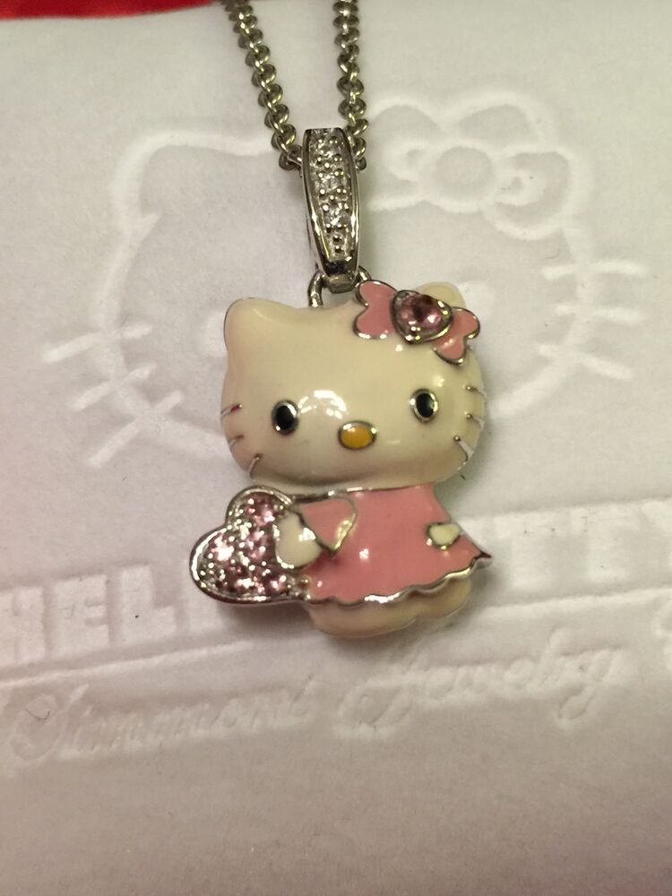 kimora lee simmons hello kitty 18k gold 925 silver