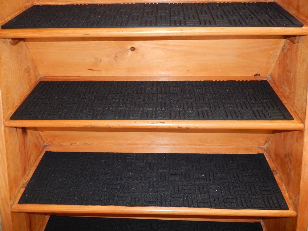 4 Steps 9 39 39 X 36 Indoor Outdoor Stair Treads Step Non Slip 100 Rubber Ebay