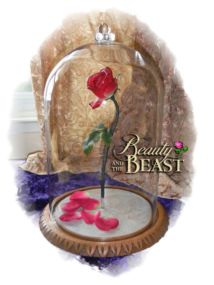 DISNEY BEAUTY AND THE BEAST ENCHANTED ROSE FAIRY TALE ...