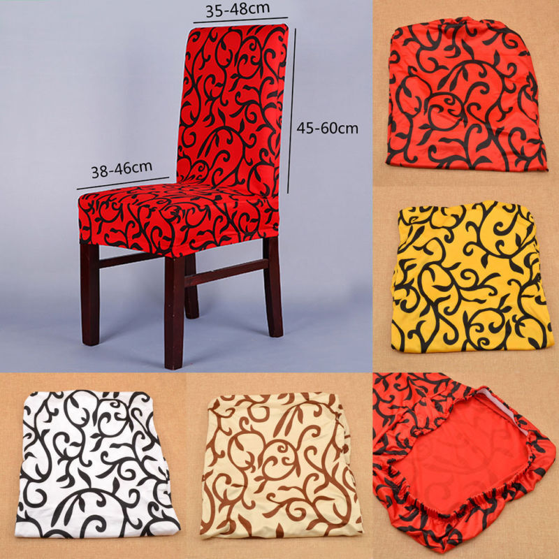 Stretch Chair Cover Short Dining Room Stool Slipcovers