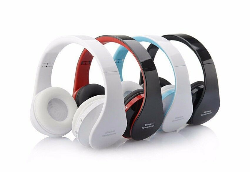 foldable bluetooth headset with microphone noise isolating wireless headphone. Black Bedroom Furniture Sets. Home Design Ideas