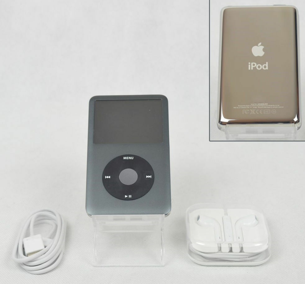 apple ipod classic 7th g n ration noir 160 go a1238. Black Bedroom Furniture Sets. Home Design Ideas