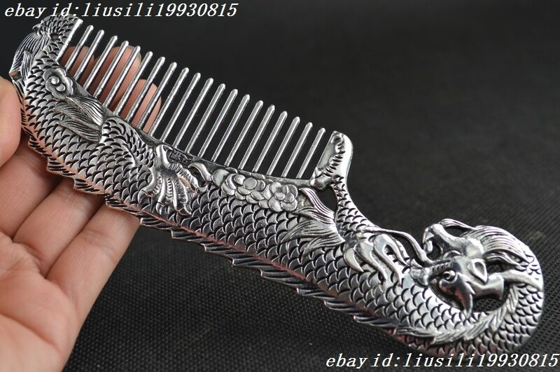 Chinese old decoration collectibles handwork tibet silver for Hand work decoration