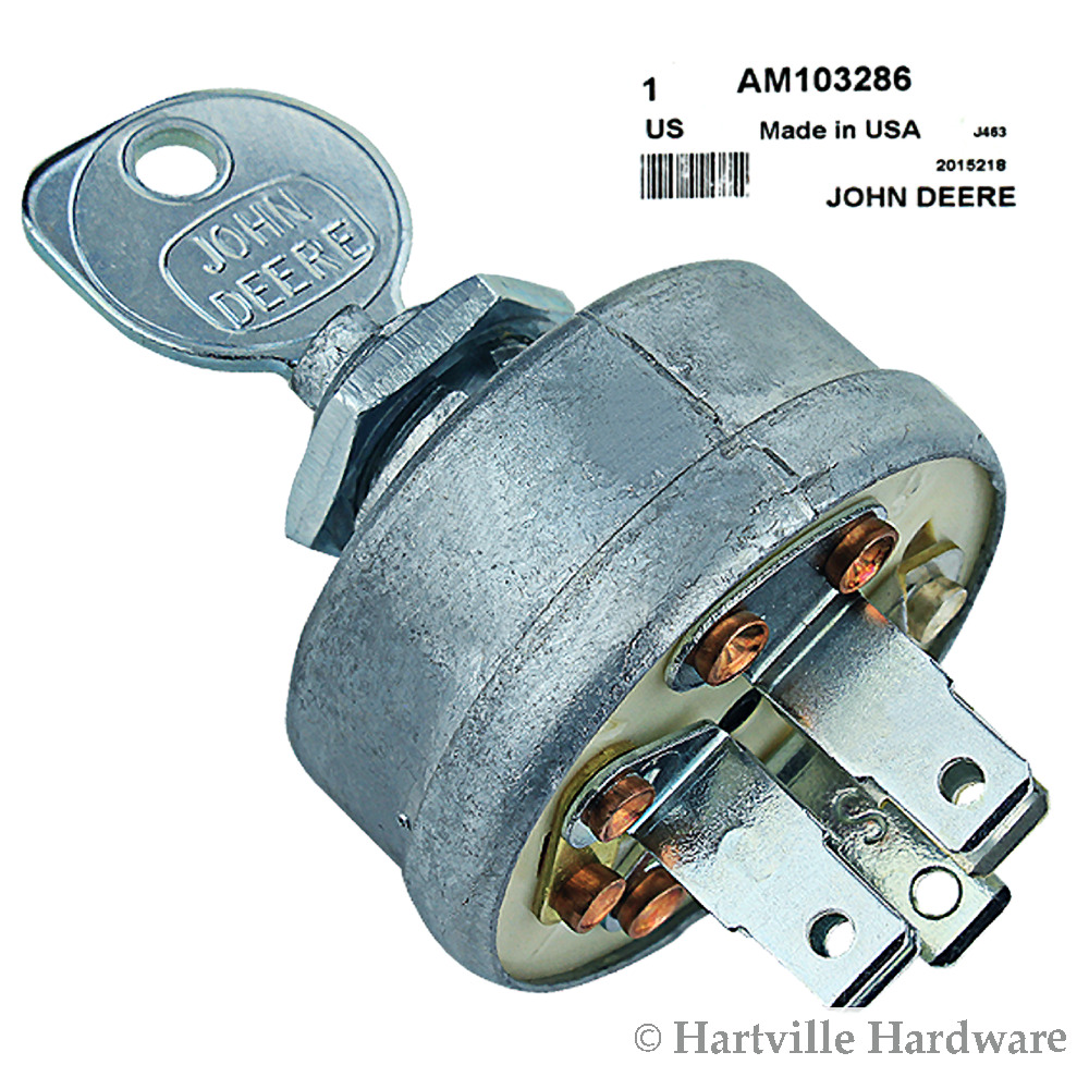 John Deere Tractor Ignition Switch : John deere original equipment ignition switch with key