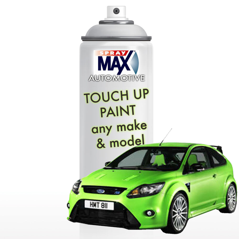 automotive auto touch up spray paint can 1k acrylic top