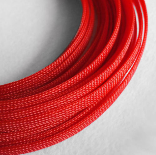 Braided Expandable Cable Loom Auto Harness Wire Sleeving