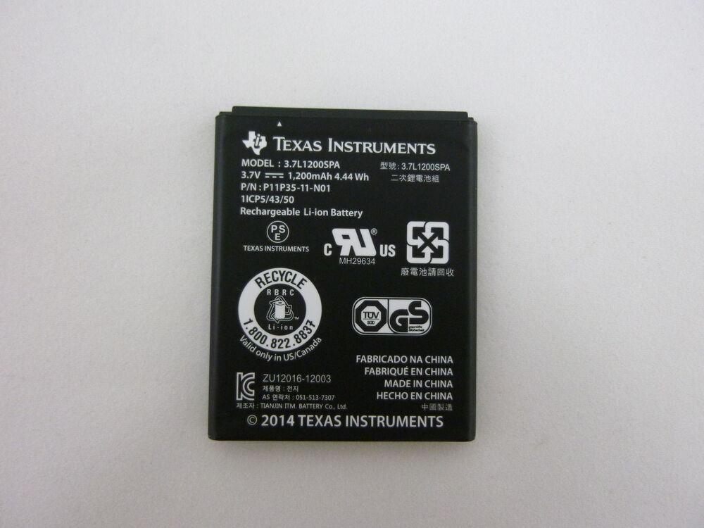 New Ti 84 Plus Ce Replacement Battery Nspire Cx And Cas Wo Wire