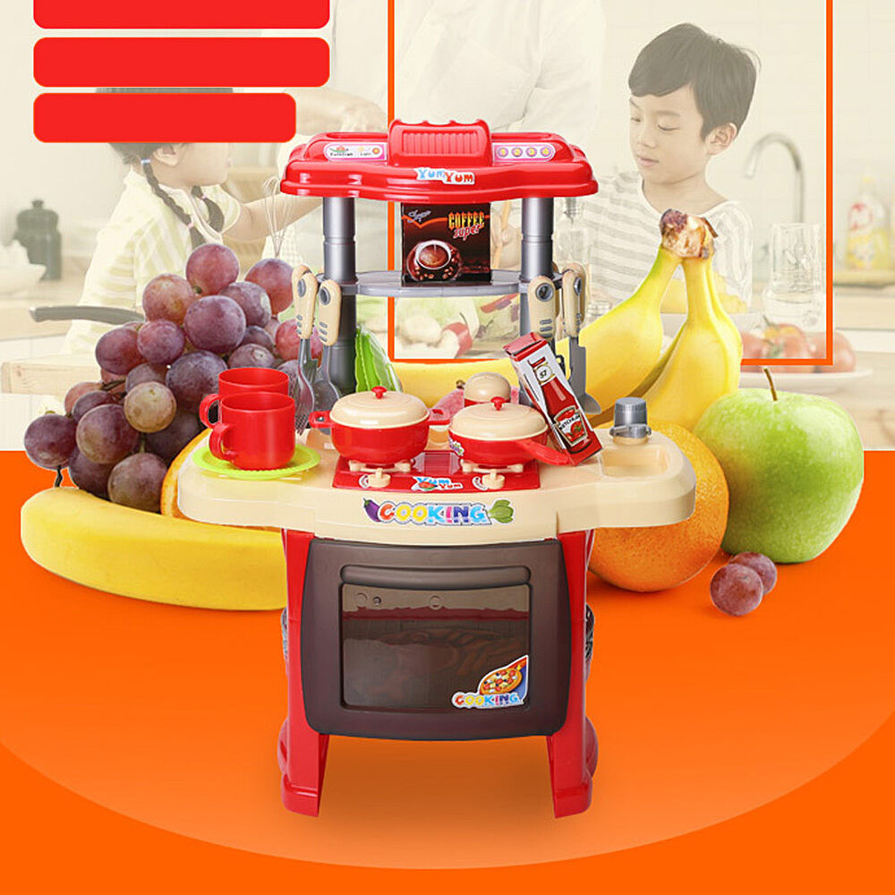 Play Cooking Toys : Pcs child kids gift girl pretend kitchen cooking play
