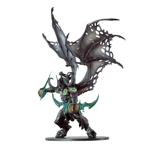 world of warcraft wow deluxe collector figure illidan