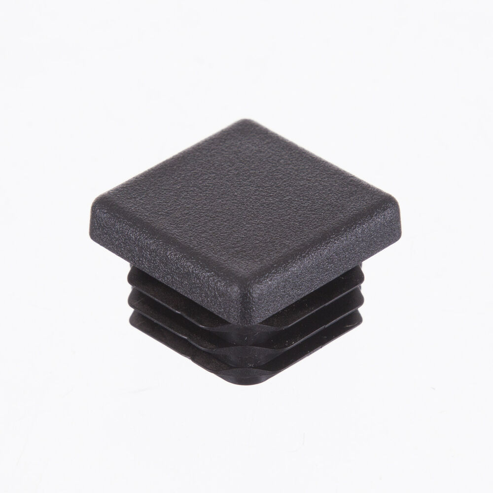 25mm Square Plastic Inserts End Cap Stopper For Tubular Metal Table Chair Legs Ebay