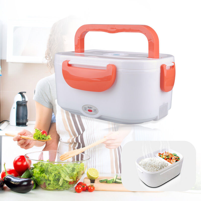 Portable Food Warmer Box ~ Electric heated lunch box portable food warmer container