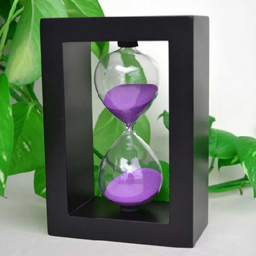 Hourglass 30 minute hourglasses sand timer for kitchen for Home decor gifts