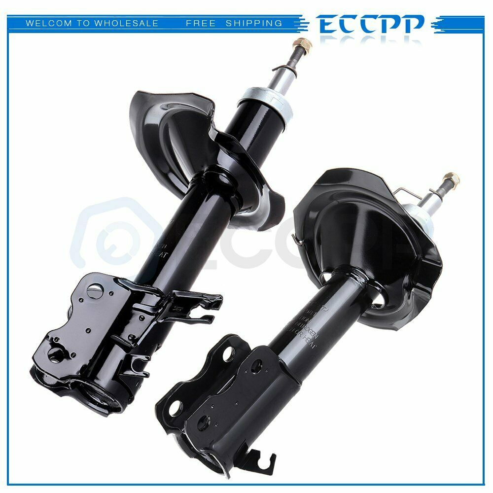 New Front Pair Absorber Shocks Struts For 2001 2003 Nissan