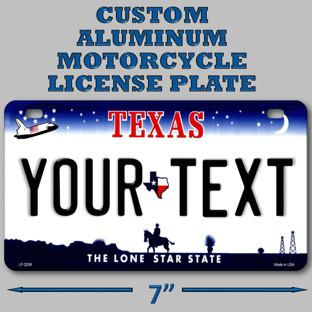 how to make a custom license plate
