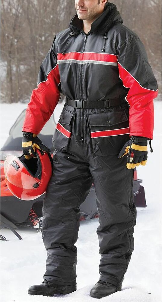 Snowsuit Snowmobile Suit Waterproof Skiing Ice Fishing