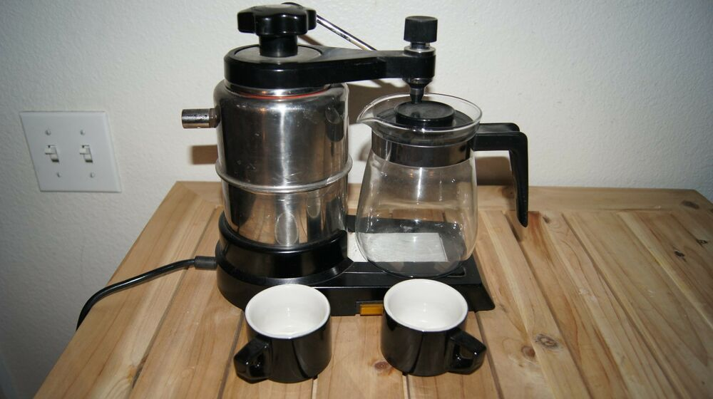 italian espresso cappuccino maker coffee imports int espresso maker ebay. Black Bedroom Furniture Sets. Home Design Ideas
