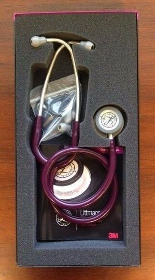 3m littmann classic iii 27 stethoscope plum 5831 new in. Black Bedroom Furniture Sets. Home Design Ideas