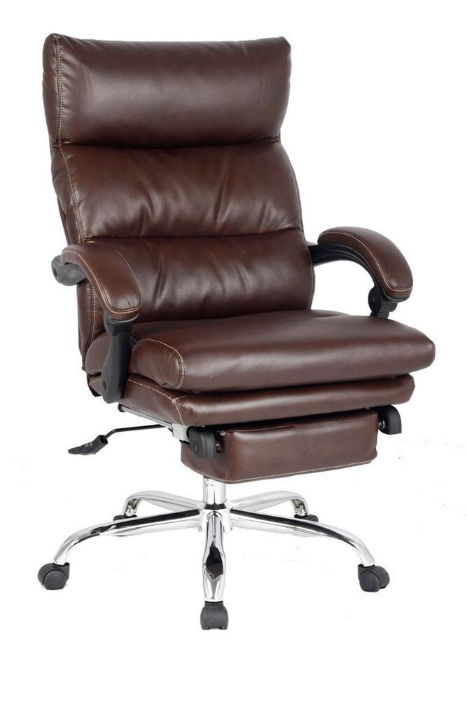 Deluxe Reclining Chair Thick Padded Executive Chair