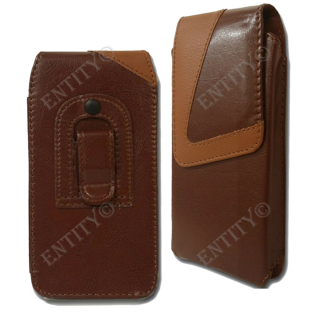 belt clip loop holster universal pu leather pouch