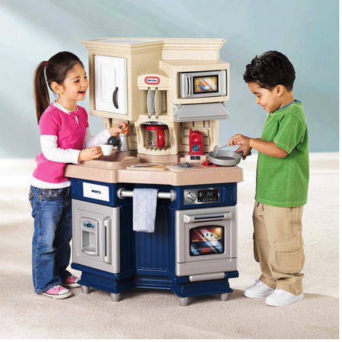 Kids pretend kitchen play set toddler cooking toy for Kitchen set for babies