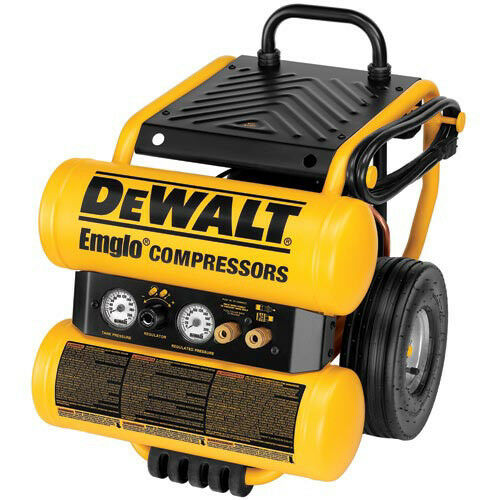 DEWALT 4 Gallon Dolly-Style Air Compressor D55154R Reconditioned