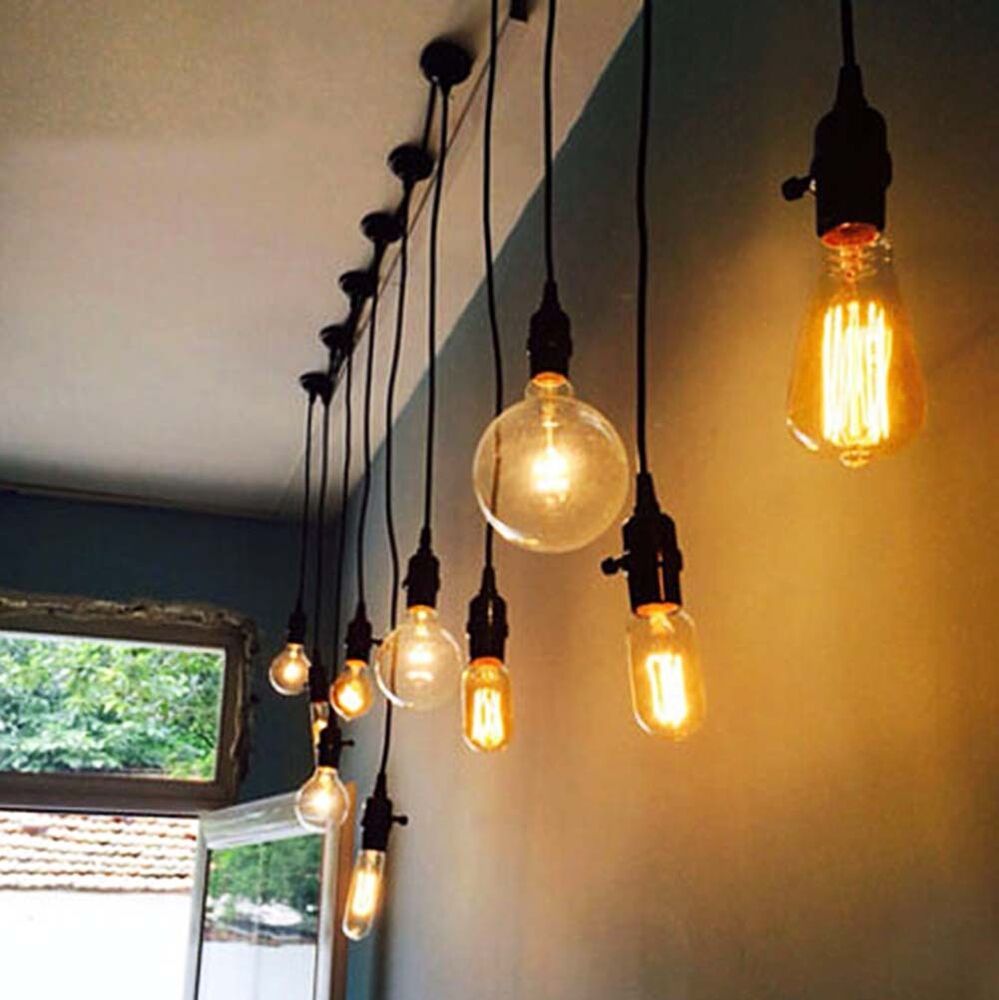 retro vintage industrial dimmable edison light bulb e27