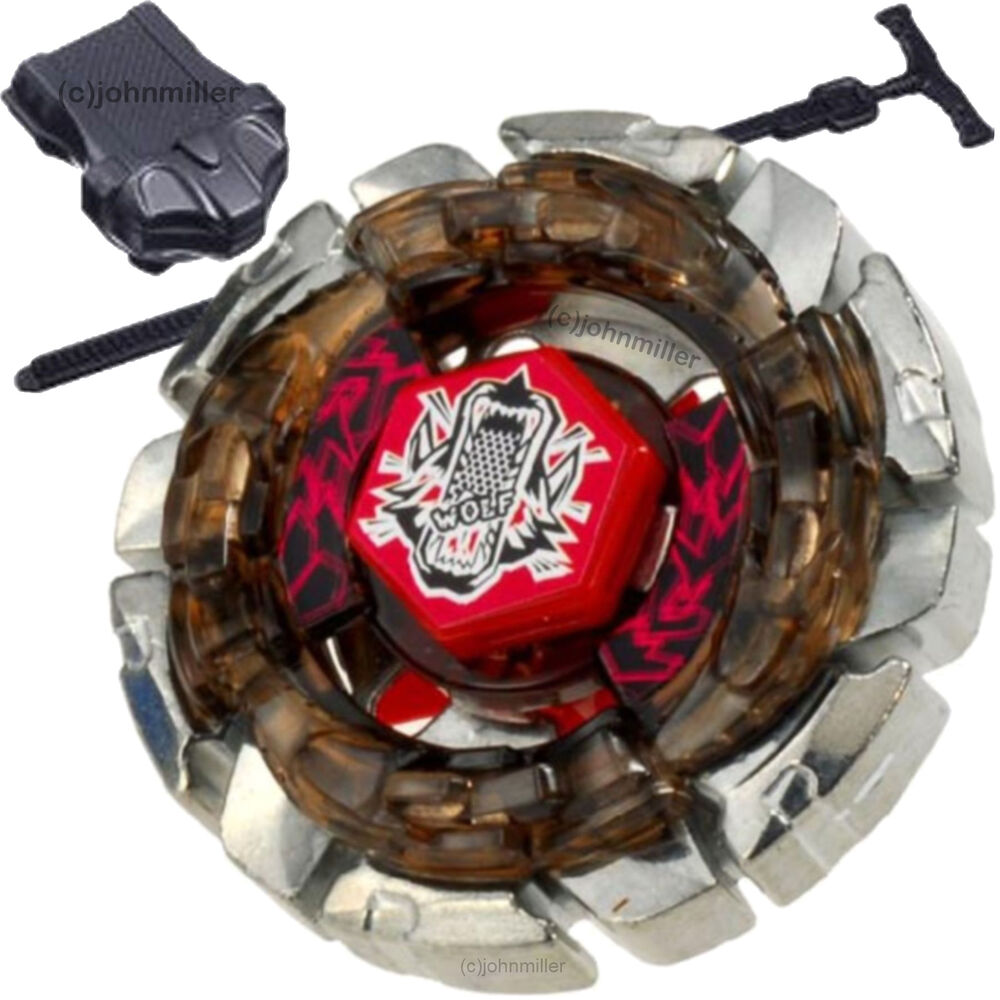 dark wolf df145fs metal fusion 4d beyblade starter set w. Black Bedroom Furniture Sets. Home Design Ideas