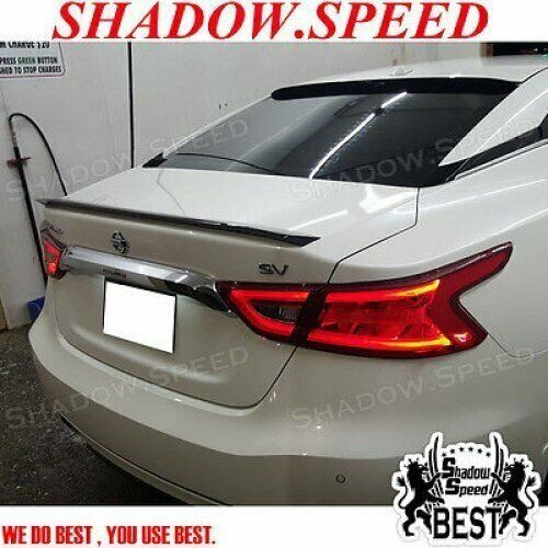 Painted D Style Rear Trunk Spoiler For Nissan Maxima A36