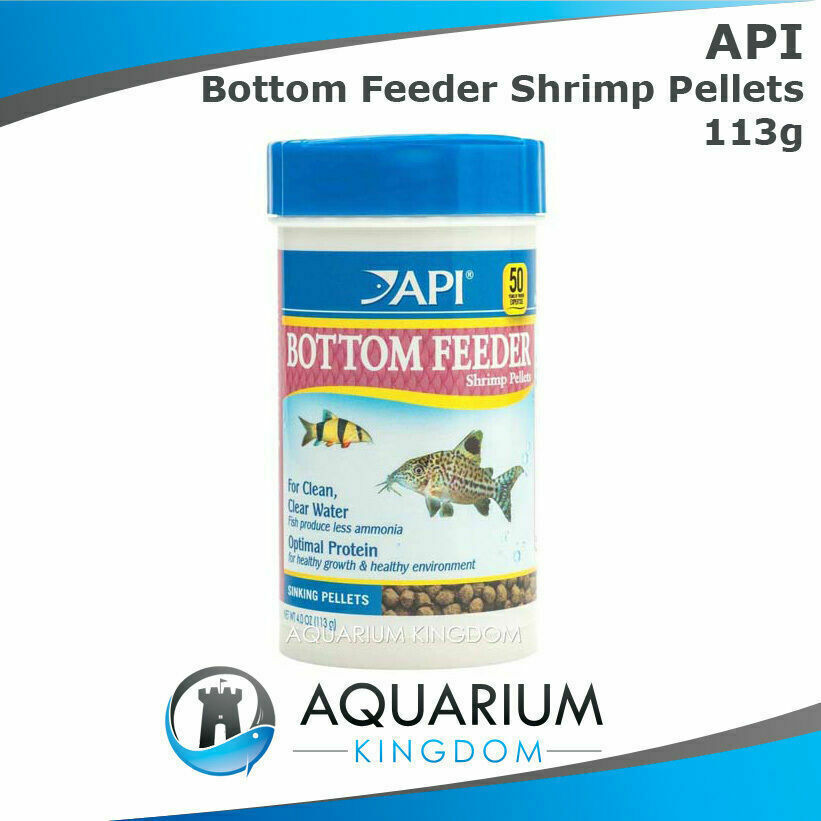 Api bottom feeder shrimp pellets 113g tropical aquarium for Bottom feeder fish list