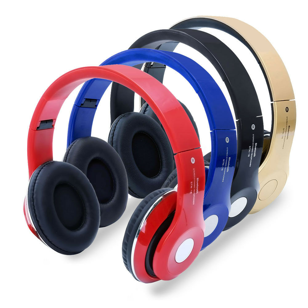 wireless bluetooth sport headphone stereo handfree. Black Bedroom Furniture Sets. Home Design Ideas