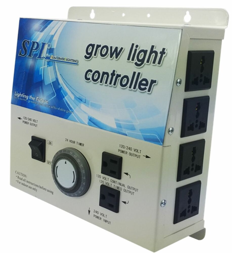 Spl Horticulture Grow Light Controller System 8plug With