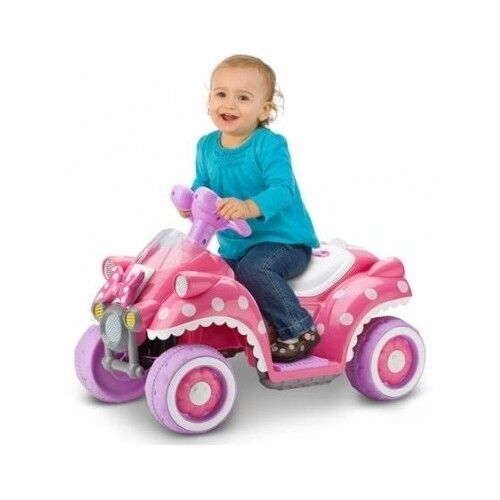 Minnie Mouse Toys For Toddlers : Girls ride on minnie mouse car pink battery power wheel