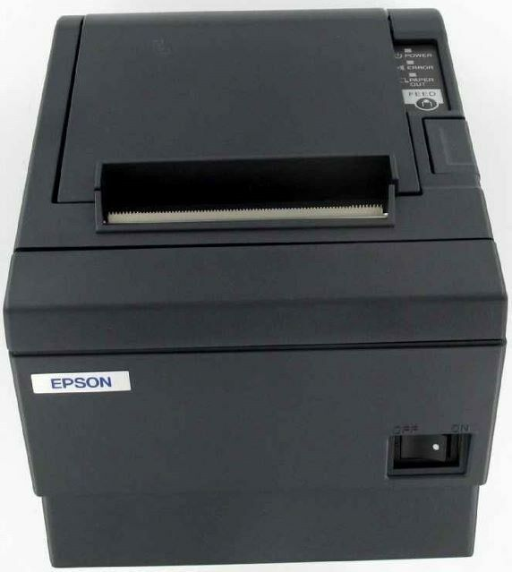 Epson Micros TM-T88 Thermal Receipt and Barcode Printer