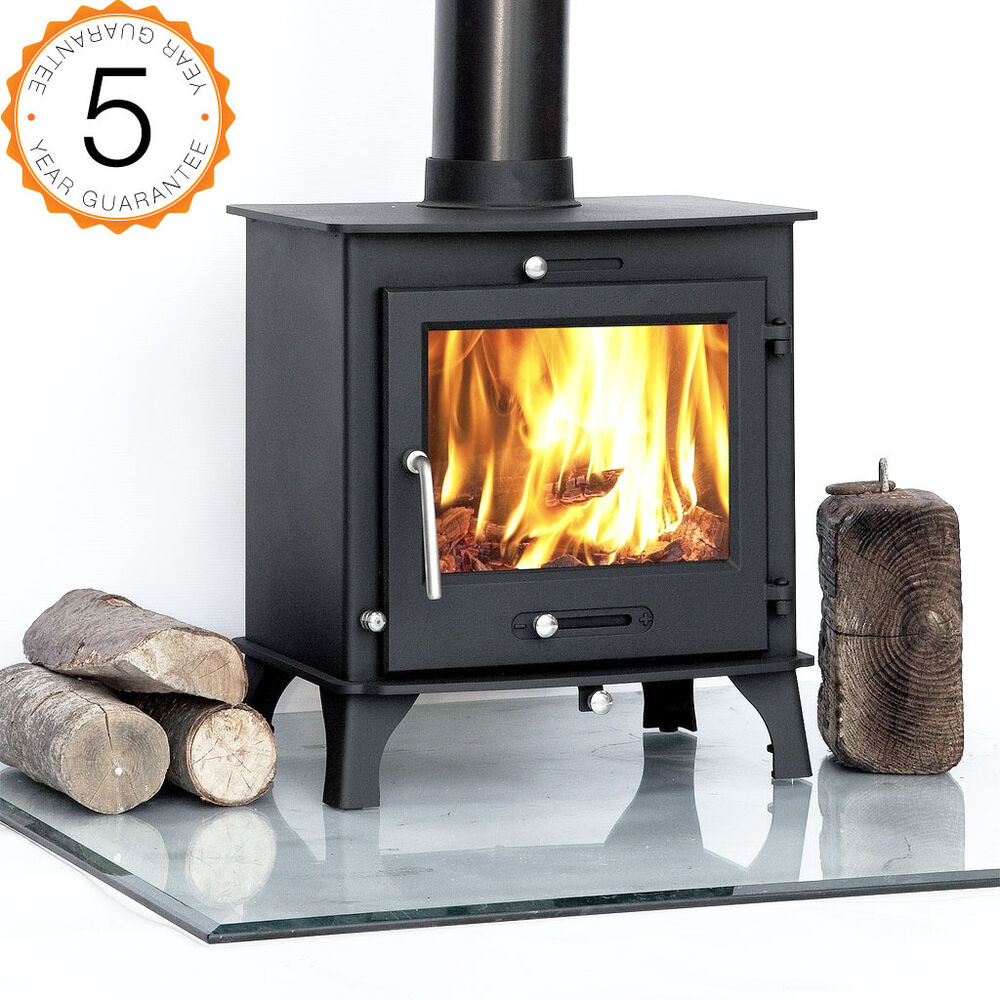 7 8kw ottawa clean burn contemporary modern woodburning stove stoves multi fuel ebay - Contemporary wood furniture burning fireplaces ...
