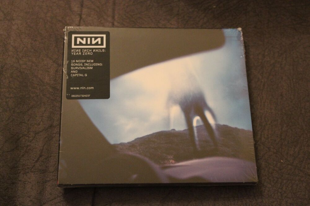 Nine Inch Nails - Year Zero (CD) - POLISH STICKERS | eBay