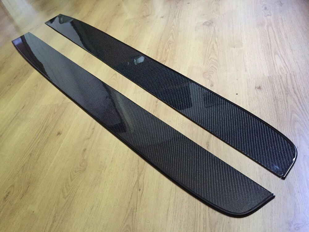 Universal Agt Carbon Fiber Side Skirts Diffusers Lips