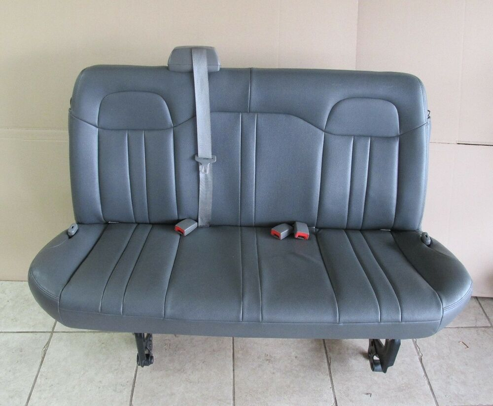 Chevy Bench Seat ~ Chevy express savana van nd rd row bench seat