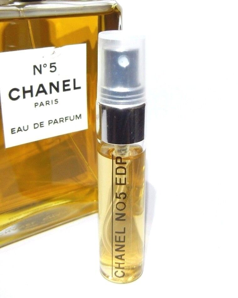 chanel no 5 eau de parfum 5ml edp sample travel. Black Bedroom Furniture Sets. Home Design Ideas