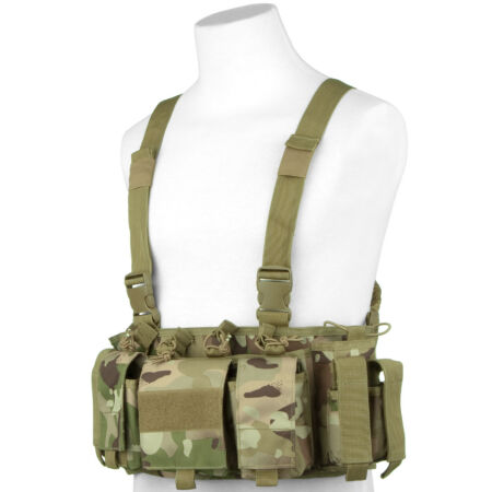 img-VIPER SPECIAL OPS MILITARY CHEST RIG HUNTING AMMO VEST MAGS CARRIER V-CAM CAMO