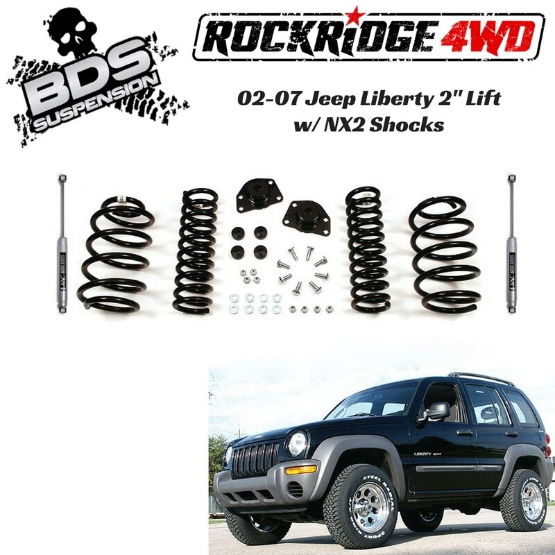 Bds Suspension 2 Pro Ride Coil Spring Lift Kit For Jeep Liberty Kj