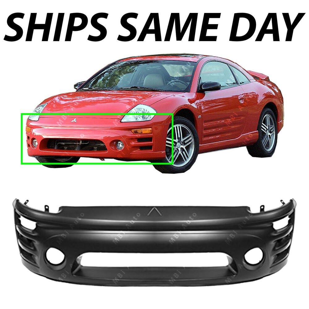 2000 Mitsubishi Eclipse >> New Primered - Front Bumper Cover Fascia For 2002-2005 Mitsubishi Eclipse 02-05 | eBay