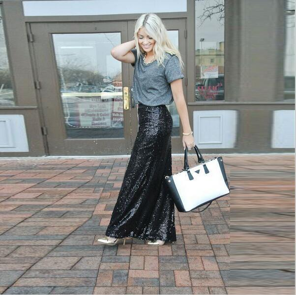 Simple Lace Long Sleeves Black Evening Gowns Satin Skirt V Back Long Formal
